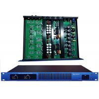 Blue Panel 1U Digital Power Amplifier 650W For Performance / Karaoke Manufactures