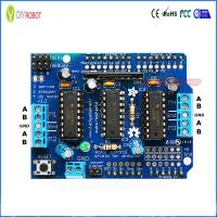 China L293D Motor Shield for Arduino Control Module DC Stepper Motor Driver Expansion Board on sale