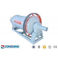 Ore Quartz Sand Cement Ball Mill Machine AC Motor Large Capacity Simple Structure Manufactures