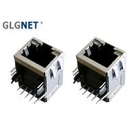 Buy cheap 1 x 1 Port LAN RJ 45 Connector Tab Up Green Yellow LED For 1G Ethernet from wholesalers