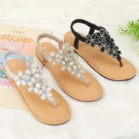 Synthetic Sole Flip Flops Sandals Slippers Fabric Upper Material Easy To Use Manufactures