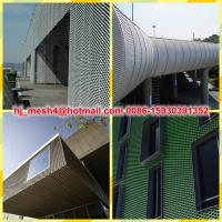 Wall Cladding Aluminum Expanded Metal Manufactures