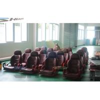 Flat / Arc / Circular / Globular Screen 5D Cinema System With Motion Theater Chair Manufactures