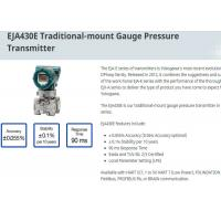EJA430E Traditional Mount Differential Pressure Transmitter From Japan Original Manufactures