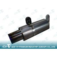 Quality Auto Exhaust System Welding Titanium Pipe OD 70 MM For Heat-Exchangers for sale