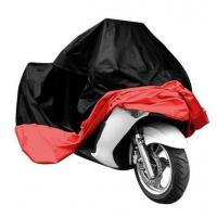 China Full Bottom Elastic Hem Outdoor Motorcycle Cover Lightweight UV Protection on sale