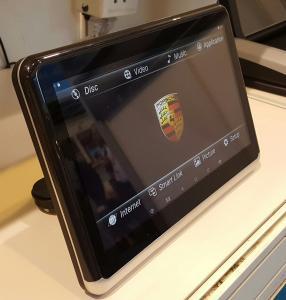 China Multimedia Player Car Dvd Headrest Monitors 10.1 Inch ARM Quad Cortex-A7 1.3Ghz CPU on sale