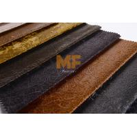 Flexible Artificial Leather Upholstery Fabric Garment Stretch Upholstery Fabric Manufactures
