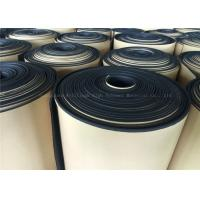Black  Rubber Foam Insulating Roll High Density Adhesive 10mm Thermal Resistant Manufactures