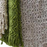 Crochet Knitted Throws, Measures 127 x 152 x 10 x 2cm Manufactures