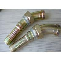 China 45° SAE Hydraulic Flanges Coupling Carbon Steel For Hydraulic Hose on sale