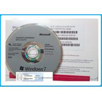 Genuine Microsoft Windows 7 Pro OEM Key 64 Bit DVD / COA License Key Manufactures