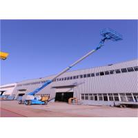 China Street Lamp Repairing Straight Boom Manlift Fourteen Meters Long Diesel Motorized on sale