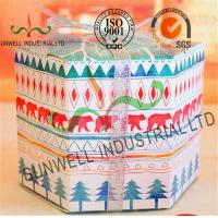 Personalized Hexagon Cardboard Food Packaging Boxes With Ribbon Bow Decoration Manufactures