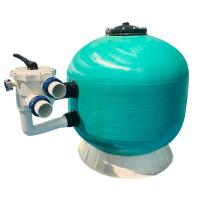 Side Mounted Fiberglass Sand Filter For Above Ground Pool Custom Color And Size Manufactures