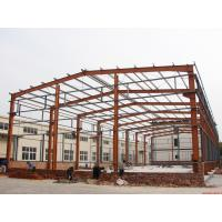 Prefabricated Industrial Building Steel Structure Shed Lightweight Fire Resistance Manufactures