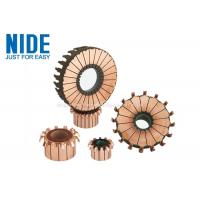 24 Segments Electric Motor Spare Parts Hook Type Commutator For Vacuum Cleaner Manufactures