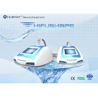 Blue Portable Body Slimming Machine HIFU with One Treatment Handle Manufactures