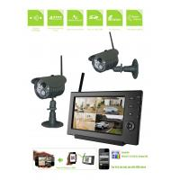 2.4Ghz Wireless Cctv Security Surveillance System Hd 65Ft Minimum Illumination Manufactures
