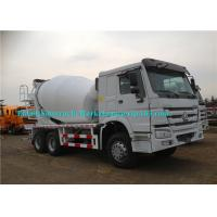 Whilte Truck Mounted Cement Mixer Machine Concrete Mixer Vehicle Eaton Motor Manufactures