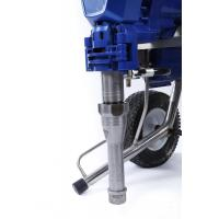 High Efficiency Airless Paint Sprayer / Gasoline Spraying Machine With Plunger Pump Intelligence Control Manufactures