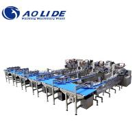China Flow Automatic Large Piece Of Chocolate Feeding & Packing Line/Machine on sale