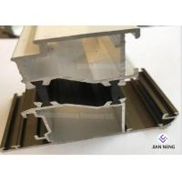 China Construction Sliding Aluminum Window Profile With Powder Coated / Double Glazed on sale