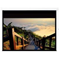 China 120 16:9 motorized electric projection projector screen HD 3D TV theater glass beaded on sale