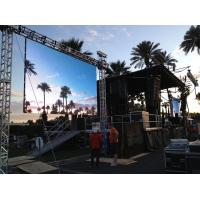Outdoor 1/10 Scan Stage Rental P4 LED Display (320*160mm module) Dismountable Video Wall Manufactures