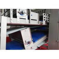 China Puff Pastry Laminator With  Advanced PLC System , 12 Flour Duster Commercial Dough Sheeter on sale