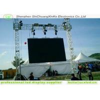 High Resolution p6 LED  advertising  display board With Steel Cabinets,outdoor advertising led display screen Manufactures