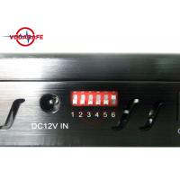 Europe Style Vehicle Signal Jammer 20m Shielding Distance Sweep Jamming Manufactures