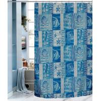 FISH 100% Polyester Shower Curtains Manufactures