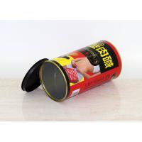 China Round Easy Close Dry Foods / Gifts Paper Composite Cans Dia 126 mm , H 140 mm on sale