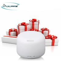 Round 300ml Oil Diffuser Microcurrent Facial Machine / Ultrasonic Aroma Diffuser Manufactures