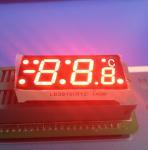 SGS Red  7 Segment Display For Digital Temperature Controller , Common Cathode 7 Segment Display Manufactures