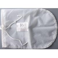 Food Grade Commercial Polyester Felt Filter Bag Mesh Drawstring Big Size Manufactures