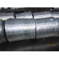 China Low carbon steel galvanized iron wire , hot dipped galvanized wire on sale