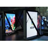 China Waterproof Led Poster Screen Store Poster Display P4 TV 256*128 mm Module Size on sale