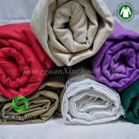 China Manufactary 100% GOTS certifide Organic Cotton Twill Solid Fabric for quilts 30NE*30NE on sale