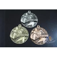 Two 3D Stars Custom Funny Football Engraved Sports Medals Souvenir Medallion Personalized OEM Manufactures