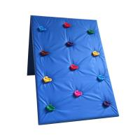 Plastic Kids Outdoor Climbing Wall Stones Customized Size For Park / School Manufactures