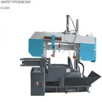 Worm Reducer Horizontal Mitering Bandsaw , Powerful Automatic Metal Saw Manufactures