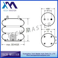 China Trailer Triple Convoluted Air Spring OEM S14487 , W01-358-8033 , 3B12-312 , FT330-29 525 on sale