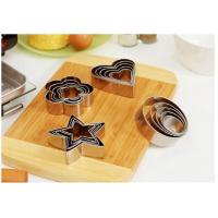 Non Toxic Stainless Steel Cake Mold Cookie Cutter Mousse Ring For Baking Tools Manufactures