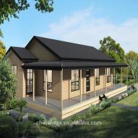Luxury Prefab Light Steel Structure Villa High Strength Small Prefab House Manufactures