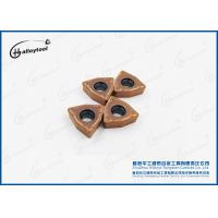 High Polished Tungsten Carbide Inserts , Cemented Carbide Cutting Tools For Drilling Manufactures
