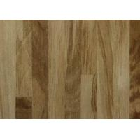 China Realistic Wooden Type LVT Click Flooring , Click Lock Vinyl Planks With Wear Layer on sale