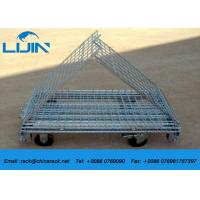 China Industrial Steel Mesh Storage Cages, 1200 * 1000 * 890mm Wire Security Cage on sale