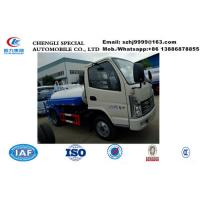 HOT SALE! high quality and Best price KAMA 4x2 3000l mini water tanker truck, cheapest KAMA 3m3 smallest water truck Manufactures